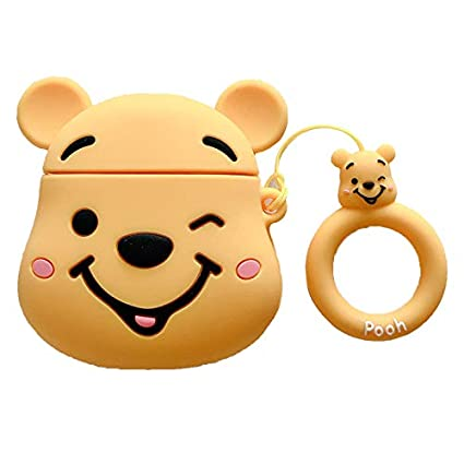 Amazon.com: iFiLOVE Airpods Case, Girls Boys Kids 3D Winnie ...