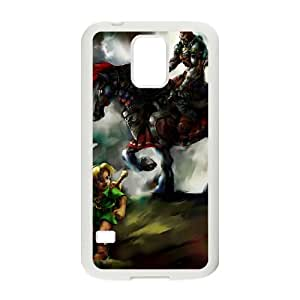 Samsung Galaxy S5 Cell Phone Case White_The Legend of Zelda The Wind Waker Ganondorf_004 Idjqo