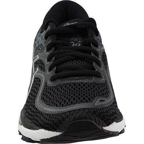 Gel cumulus Asics Femme 19 Blanc Noir Chaussures Pour 5PwSTExx
