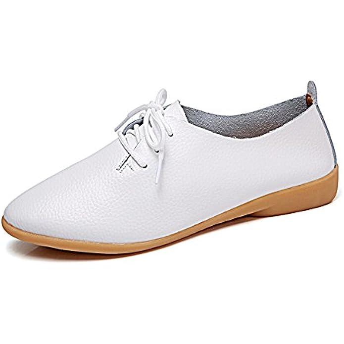 VenusCelia Women's Snug Oxfords Flats Shoe