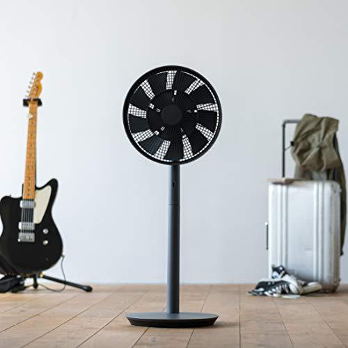 "BALMUDA Energy Saving Silence Living Fan""The GreenFan"" EGF-1600-DK (DARK GRAY × BLACK)【Japan Domestic genuine products】"