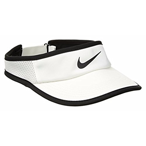 Nike Women's AeroBill Feather Light Visor (White) (3 Pack) by NIKE