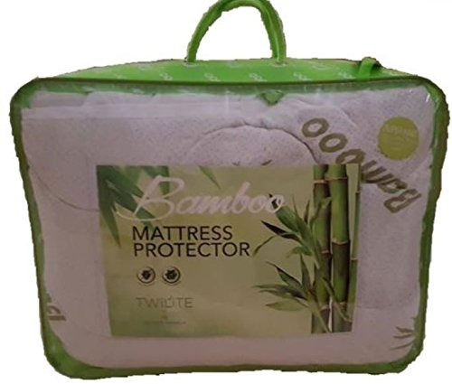 High Quality Quilted Bamboo Memory Foam Pillow & Mattress Toppers Protector (Small Double) GM
