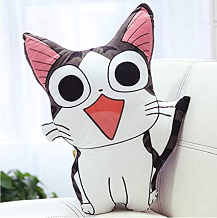 Ycmjh Animal Dessin Anime En Peluche Oreiller Animal De Fromage