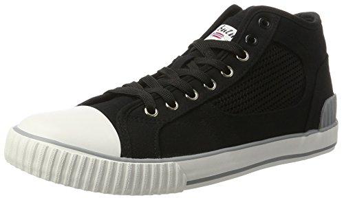 Hommes Nebulus Noir Haute Sneaker (noir)