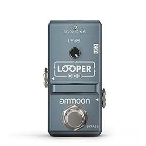 ammoon ap 09 nano loop electric guitar effect pedal looper true bypass unlimited. Black Bedroom Furniture Sets. Home Design Ideas