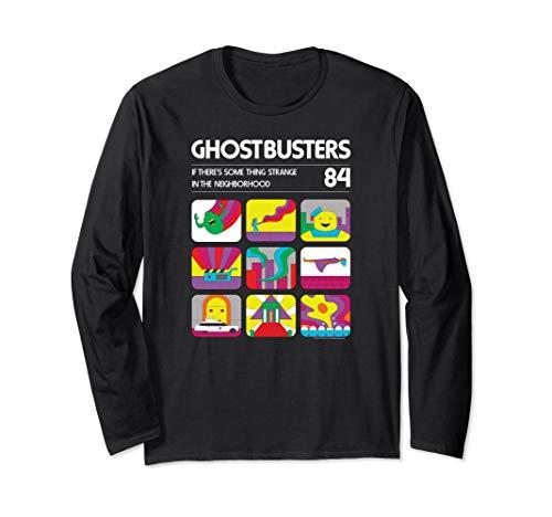 Unisex Ghostbusters Atari Box Art Long Sleeve Shirt