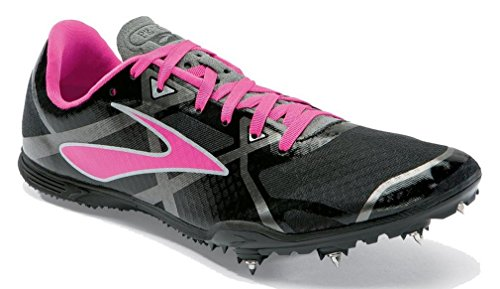 Brooks À Md Course 3 gris Pique Pr rose Noir Pied Women's wXgFxwqAr