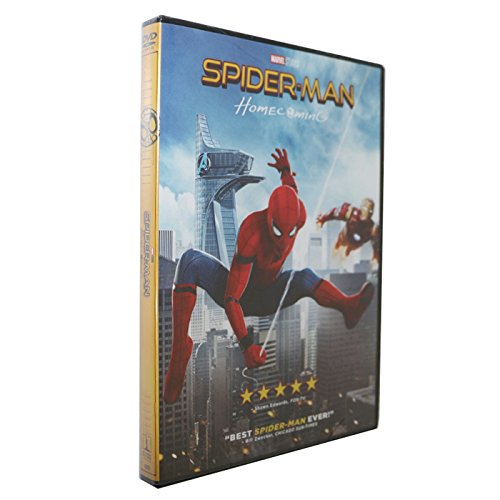 Spider Man  Homecoming Dvd 2017