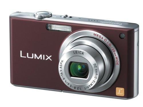 Panasonic デジタルカメラ LUMIX (ルミックス) ショコラブラウン DMC-FX33-T