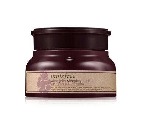 Innisfree Wine Jelly Sleeping Pack 80 millilitre