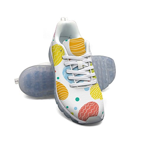 2015 online FAAERD Easter Egg Pattern-01 Men's Fashion Lightweight Mesh Air Cushion Sneakers Running Shoes cheap sale nicekicks recommend sale online pdFhsTFlTY