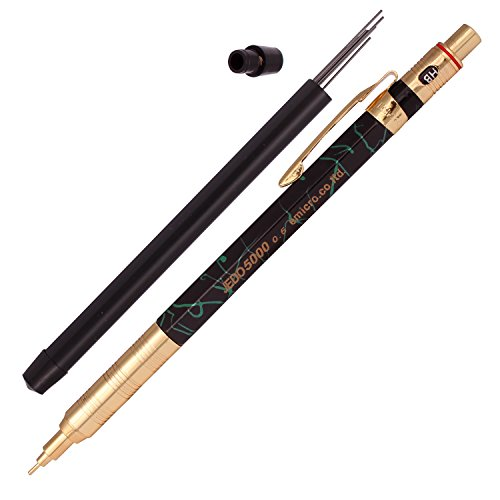 Emicro Jedo 5000-0.5 mm Mechanical Pencil Marble Pattern (Marble Blue) (Cascade Pattern)