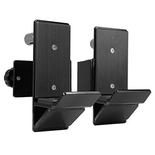 Yes4All J-Hooks Barbell Holder for Power Rack – J Hook Weight Rack/Fitness Racks J Hook – Fit 3×3 inch Square Tube (Pair…