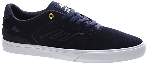 The Zapatillas Reynolds Gold Navy de skateboarding Emerica White fF8Cwqw