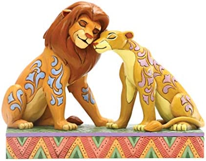 Disney Traditions Savannah Sweethearts Simba Beeldje