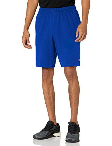 """Champion Men's 9"""" Jersey Short with Pockets, Surf"""