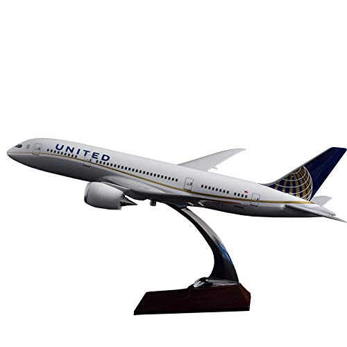 (Marrsto 43Cm Resin Aircraft Model B787 United Airlines Airways Model Boeing 787 United State Airplane Airbus Handicraft Wholesale Model)