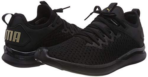 Mtallis Chaussures Dor Wn Puma Noir Femmes De Comptition Course Varsity Ignite Pour Flash POqfBP4
