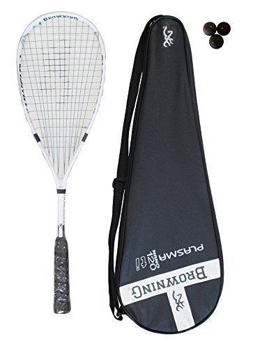 Browning Plasma Nano 120 Raqueta De Squash + 3 Dunlop Pro Pelotas De Squash: Amazon.es: Deportes y aire libre