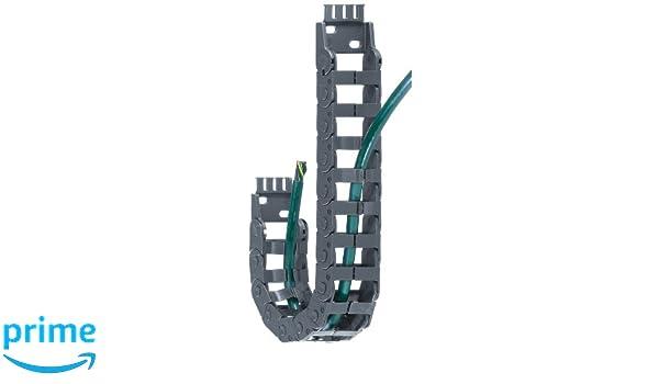 0.75 Inner Height EZ-Split Crossbar Polymer 3ft Chain Length 2.95 Bend Radius Igus E14-2-075-0 Energy Chain Cable Carrier 0.98 Inner Width 0.51 Max Cable Diameter