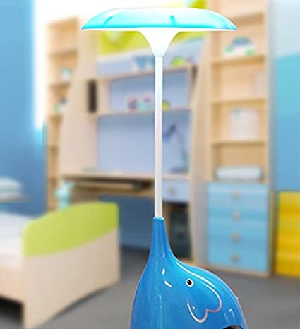 USB de carga LED bonitas pequeños elefantes de noche luz mesa Baby ...