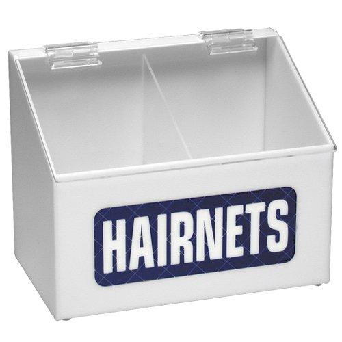 Hairnet Dispenser, Arcylic, White