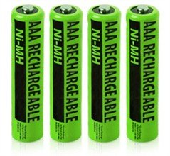 Replacement NiMH AAA Telephone Batteries for SBC Phones (4-Pack)