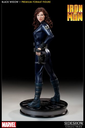 - Sideshow Collectibles - Iron Man 2 Premium Format Figure 1/4 Black Widow 48 cm