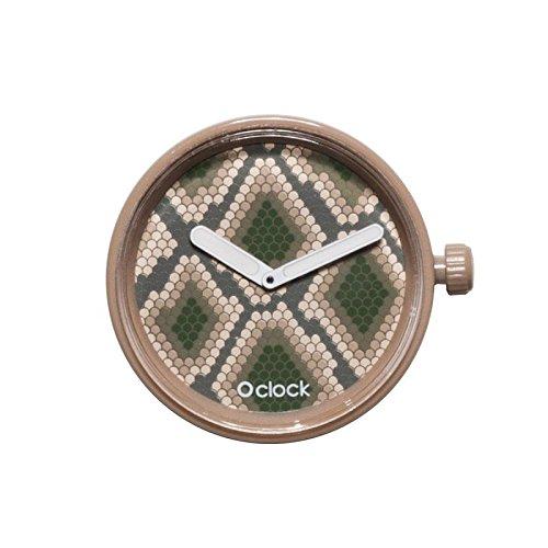 fullspot O clock caja Safari mecanismo de serpiente