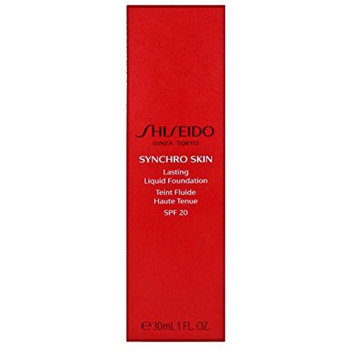 (Shiseido Synchro Skin Lasting Liquid Foundation SPF 20 - Neutral 2 30ml/1oz)