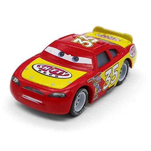 Disney Cars Disney Pixar Cars 2 and Cars 3 Lightning McQueen Family Sarge Metal Alloy Diecast Toy Car 1:55 in Stock 27