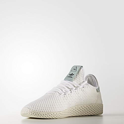 adidas Originals Men's Pharrell Williams Human Race White/White/Green 4 D US D (M) by adidas Originals (Image #5)