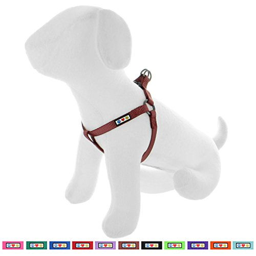 Step in Dog Harness or Vest Harness Dog Training Walking of Your Puppy Harness Small Dog Harness Marsala Brown Dog Harness ()