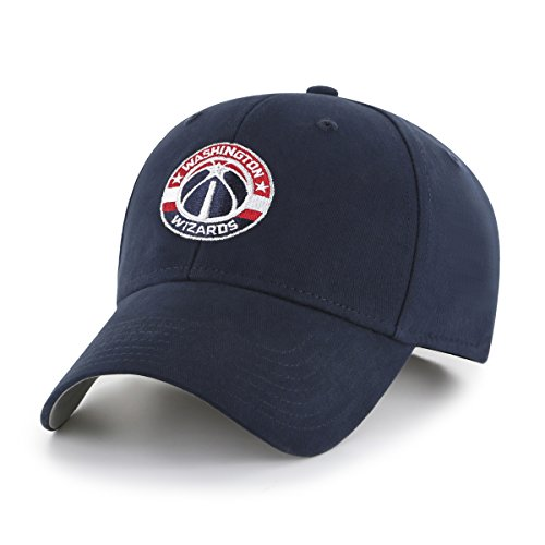 fan products of NBA Washington Wizards Kid's Cinch OTS All-Star Adjustable Hat, Navy, Kid's