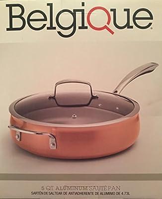 BELGIQUE 5 Qt Sauté Pan with Lid