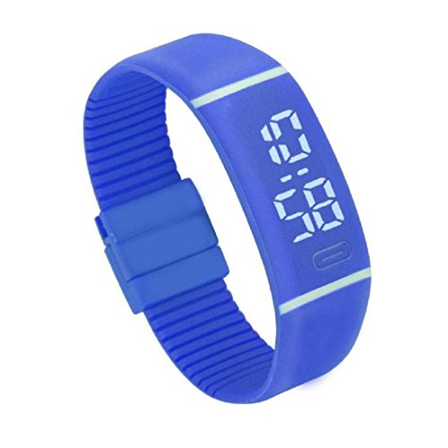Beautyvan Wrist Watch,Mens Womens Rubber LED Watch Date Sports Bracelet Digital Wrist Watch