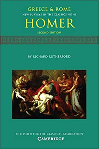 Homer (New Surveys in the Classics, Series Number 41): Rutherford, Richard:  9781107670167: Amazon.com: Books