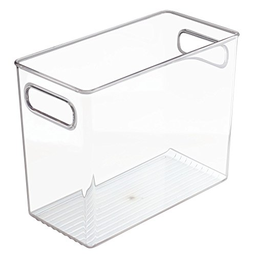 ator, Freezer and Pantry Storage Container – Food Organizer Bin for Kitchen – Extra Large, Clear ()