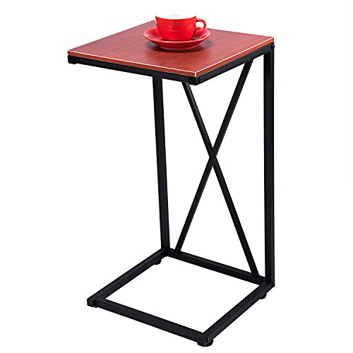 home, kitchen, furniture, living room furniture, tables,  coffee tables 8 image MaidMAX Snack Table, 25-Inch-High C-Shaped deals