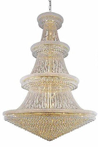 66-Light Chandelier in Gold (Swarovski Elements) from Elegant Lighting