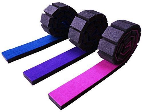 Z Athletic Gymnastics Roll Up Balance Beam Pink Sporting