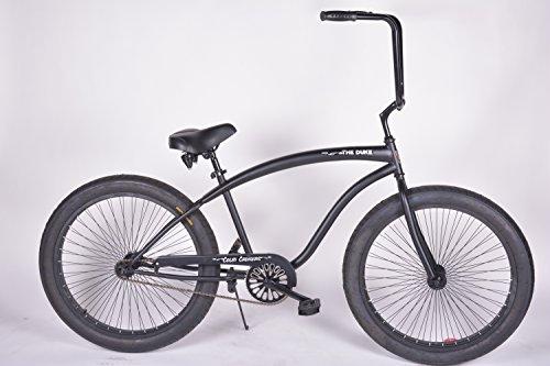 - Colby Cruisers Duke 3.0 Fat Tire Big Wheel Bicycle (Matte Black/Black)