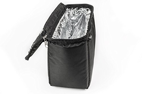 AutoExec AETote-08 Black/Grey File Tote with One Cooler and One Hanging File Holder by AutoExec (Image #7)