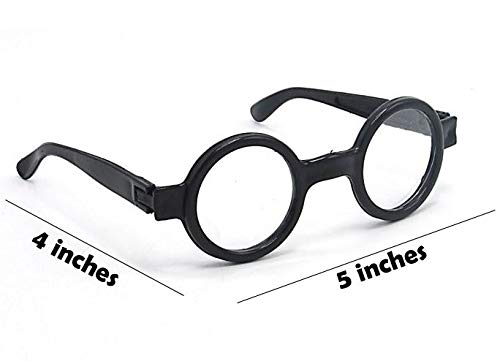 Harry Potter Great Accessory for a Wizard 8 Pack dazzling toys Wizard Glasses Birthday Party
