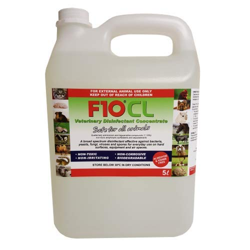 F10 CL Veterinary Disinfectant Concentrate 5 litre