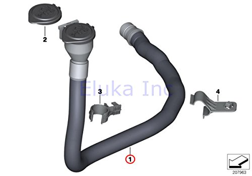 BMW Genuine Wash Container Filler Pipe For Windshield Washer Fluid Reservoir 128i 135i Active e X1 28i X1 28iX X1 35iX 128i 135i 323i 325i 325xi 328i 328xi 330i 330xi 335i 335xi 323i 328i 328xi 335d 335i 335xi 325xi 328i 328xi 328i 328xi 328i 328xi 335i 335xi 328i 328xi 335i 335is 335xi 328i 335i 328i 335i 335is