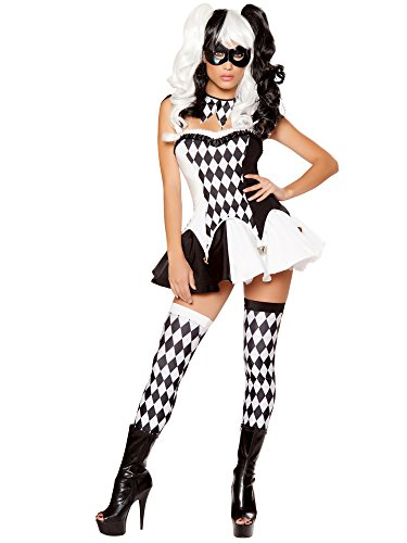 Fancy Dress Costumes Jester (Devious Jester Costume - Small - Dress)