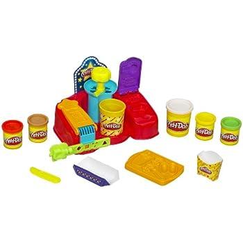 Amazon Com Play Doh Fun Food Poppin Movie Snacks Toys