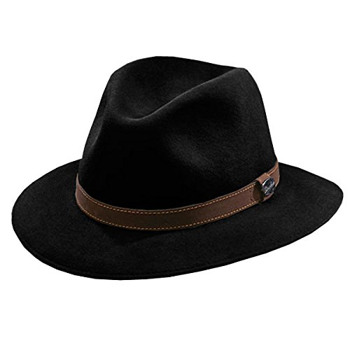 Borsalino Casual Crusher Hat (60, (Borsalino Mens Hat)